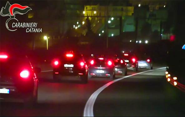 Droga tra Catania e Caltagirone, 24 arresti