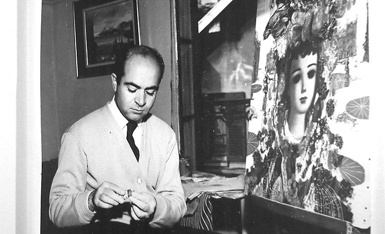 Mostra di Jean Calogero a Catania - interviste