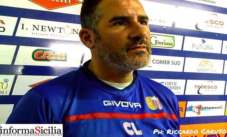 Catania-Potenza, Lucarelli analizza match - intervista