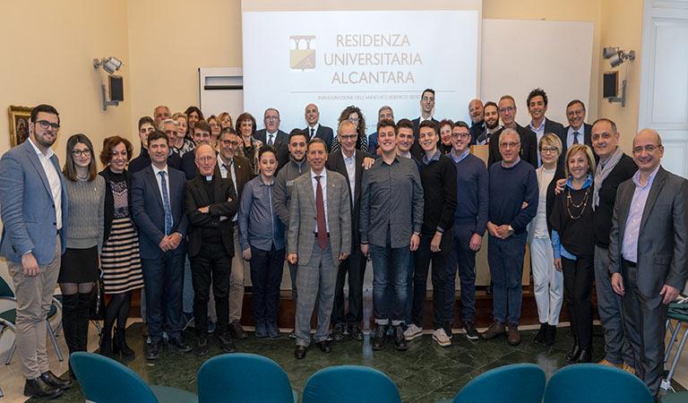 Residenza Alcantara, inaugurato anno accademico - interviste