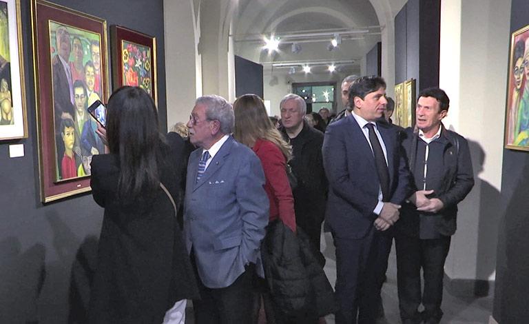 Mostra del giornalista Fava a Catania - interviste