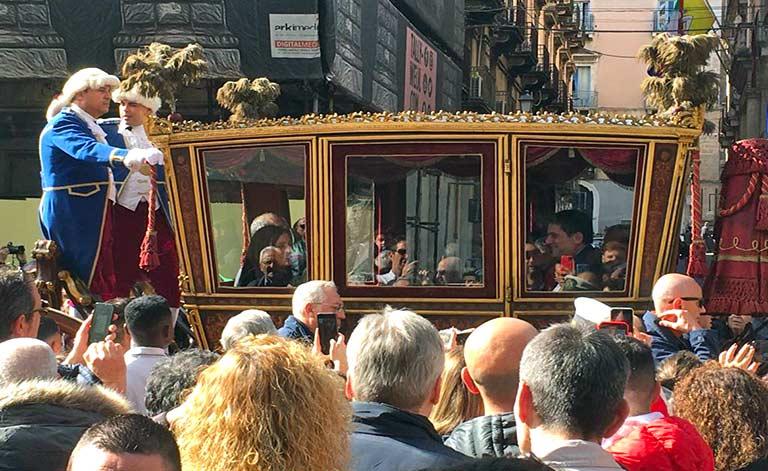 Iniziano i festeggiamenti a Sant'Agata
