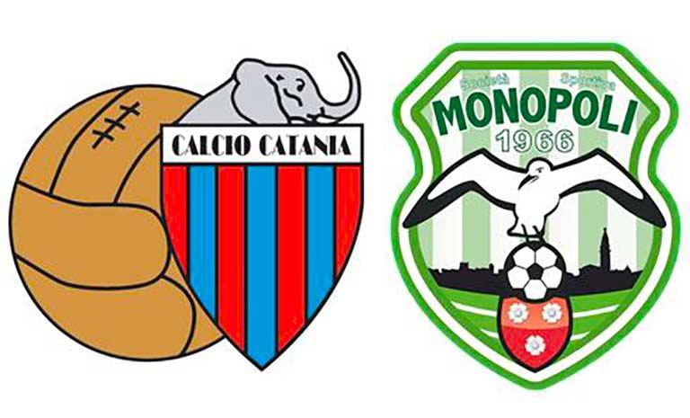 Catania ospita in casa il Monopoli