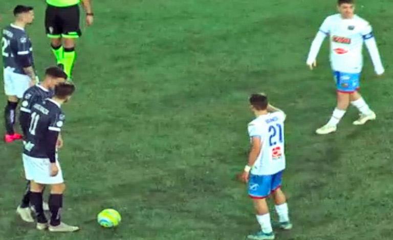 Cavese-Catania 0-1, decide Mazzarani su rigore