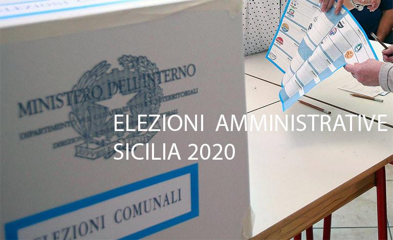Elezioni comunali Sicilia 2020, 24 maggio si vota