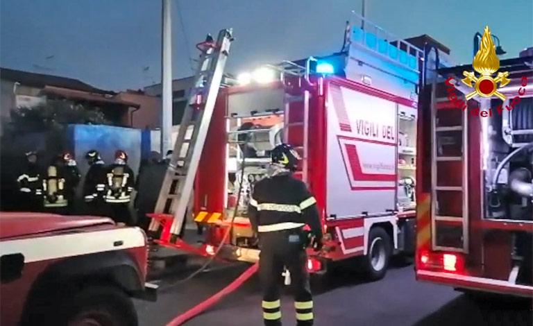 Morte due anziane nell'incendio