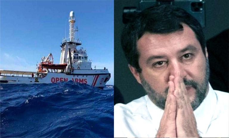 Open Arms, chiesto processo per Salvini