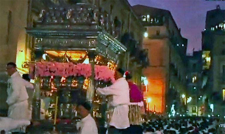La festa di sant'Agata continua
