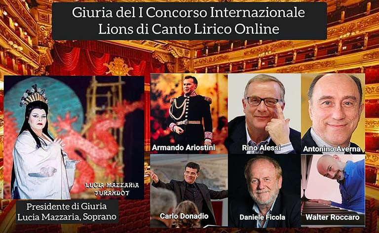 Concorso Lirico on line, Lions Catania-Milano