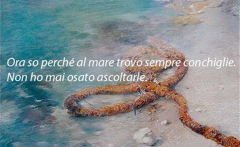 Paola Tricomi e il canto del mare di