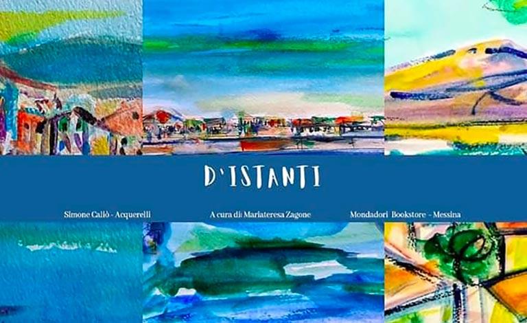 Simone Caliò espone D'Istanti a Messina -video
