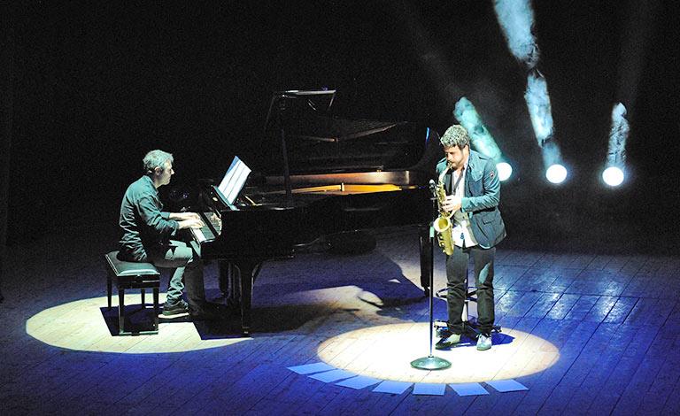 Duo Cafiso-Schiavone al Teatro Laudamo Messina