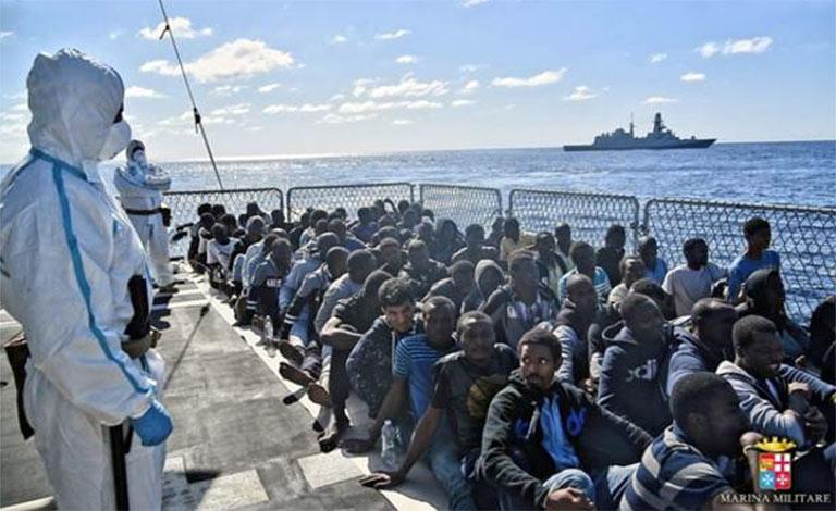 Negativi migranti a Lampedusa, Pozzallo 2 contagi