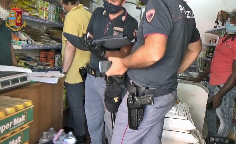 Maxi blitz a Catania con 130 agenti