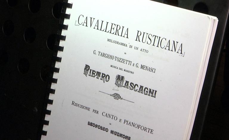 Cavalleria Rusticana a Taormina - interviste