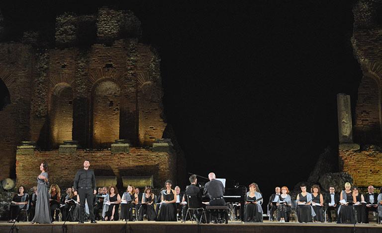 Mythos Opera Festival, replica Aida a Taormina