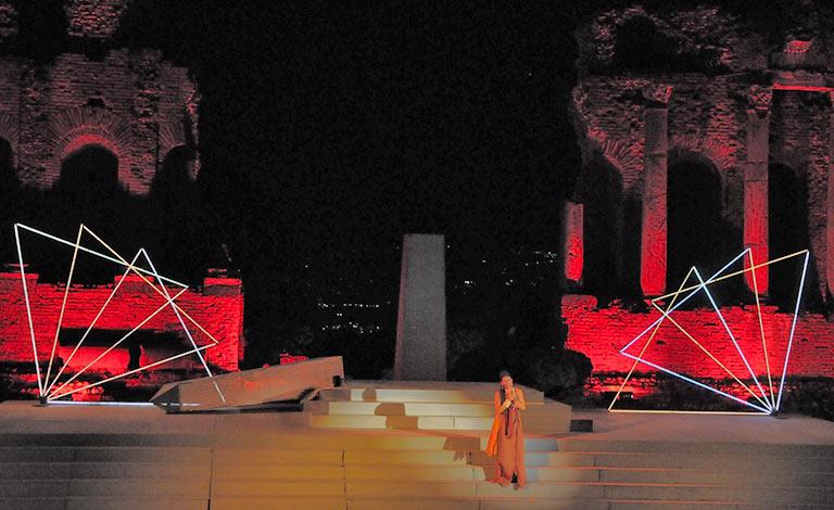 Mythos Opera Festival, Aida a Taormina