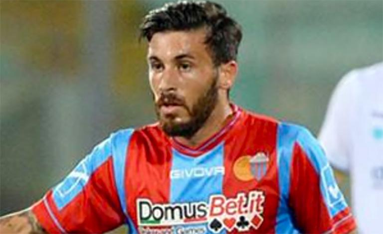 Federico Angiulli saluta il Calcio Catania