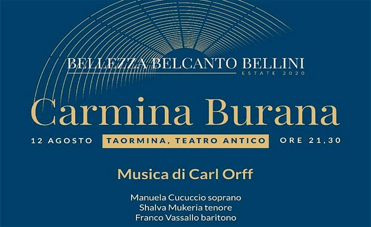 Carmina Burana nel Teatro antico di Taormina