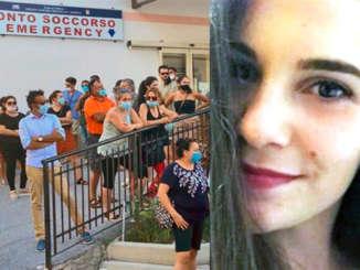 lorenza_famularo_proteste_davanti_ospedale