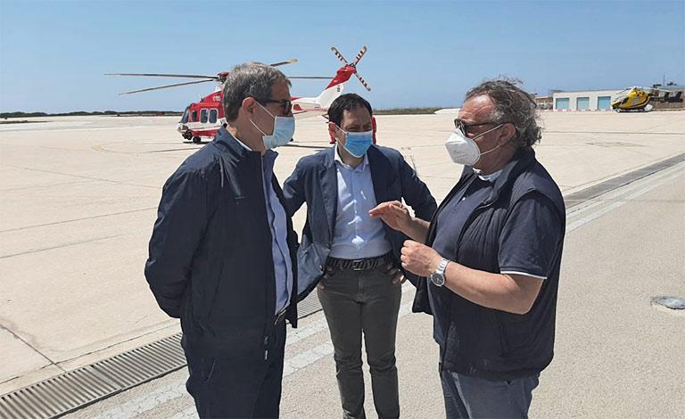 Lampedusa, 38 migranti positivi tuona Musumeci