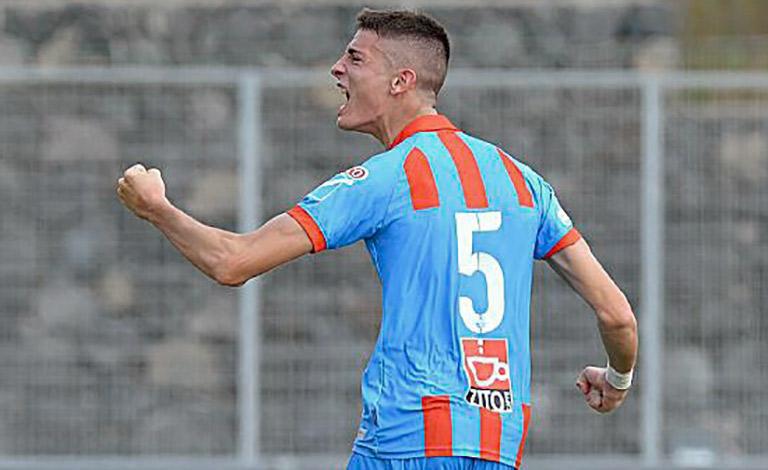 Calcio Catania, Pino in prestito alla Lazio