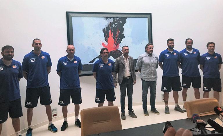 Calcio Catania, a Torre del Grifo nuovo staff tecnico
