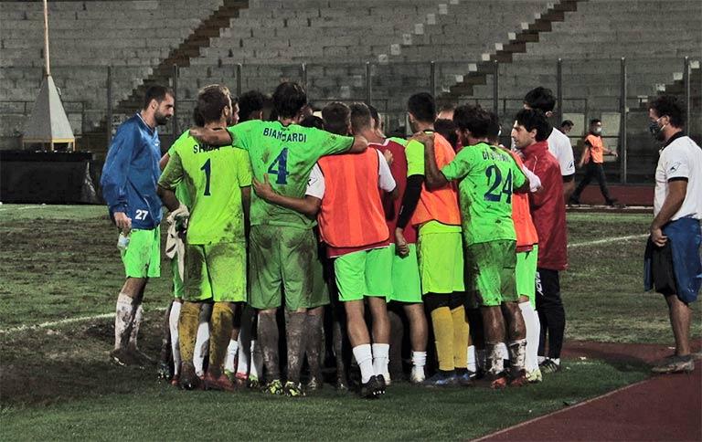 Catania-Notaresco 1-2, etnei non passano il turno