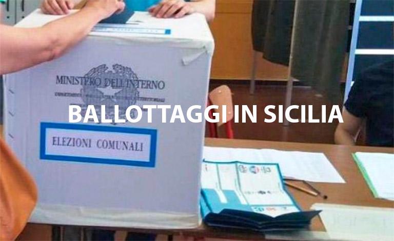 Elezioni in Sicilia, 4 comuni al ballottaggio