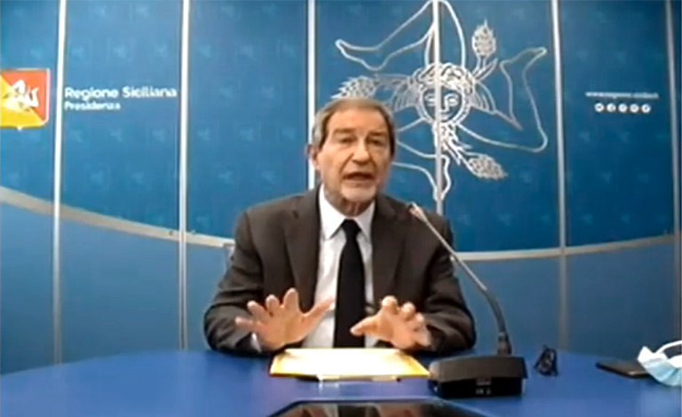 Covid-19 in Sicilia, Musumeci chiarisce nuovo Dpcm-video