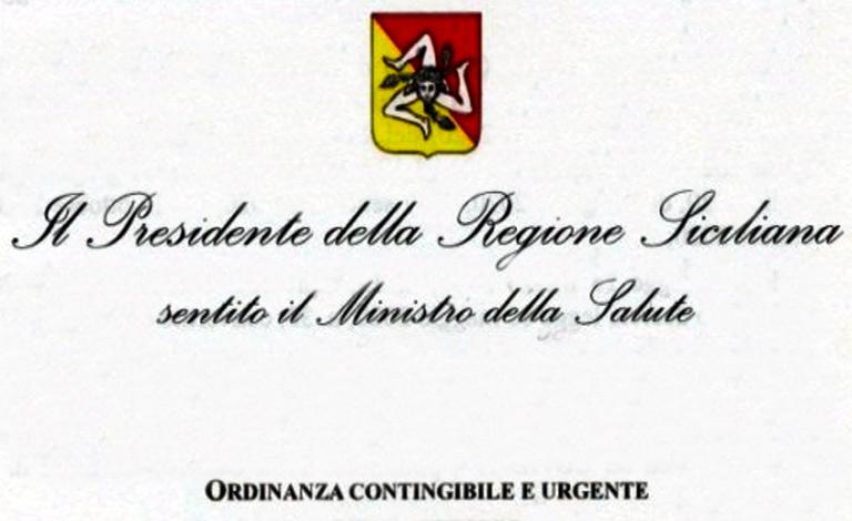 Misure anti Covid-19 in Sicilia, Musumeci firma