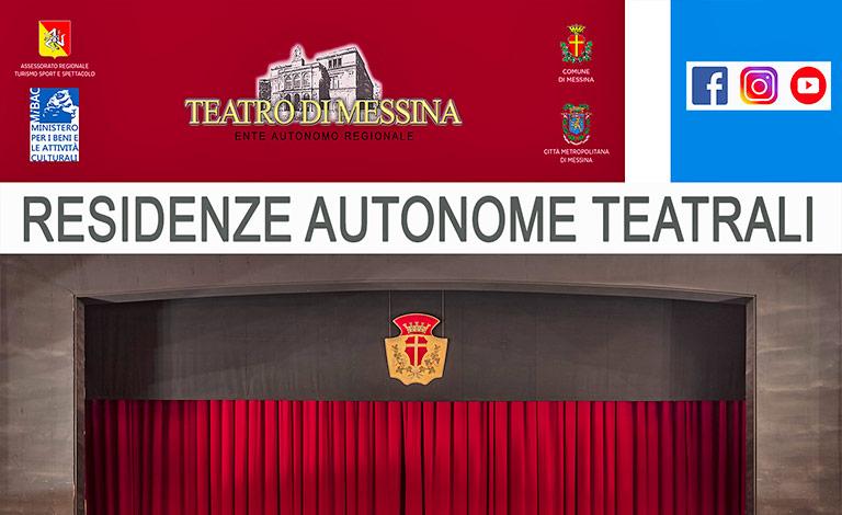 V. E. Messina, ok a Residenze Autonome Teatrali