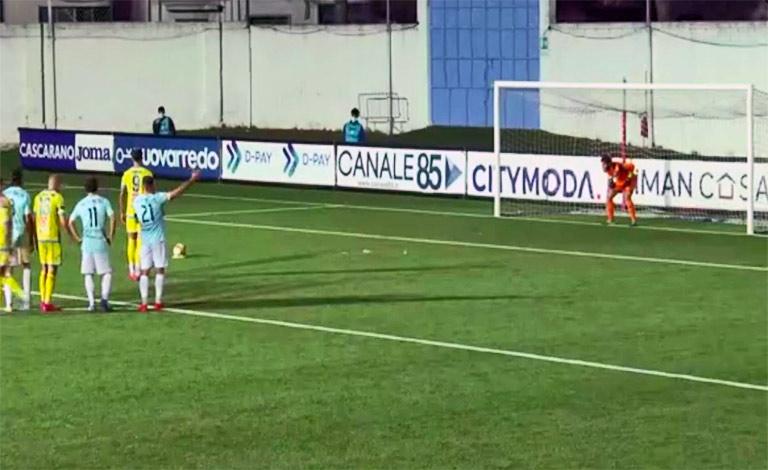 Virtus Francavilla-Catania 0-1, terzo successo di fila