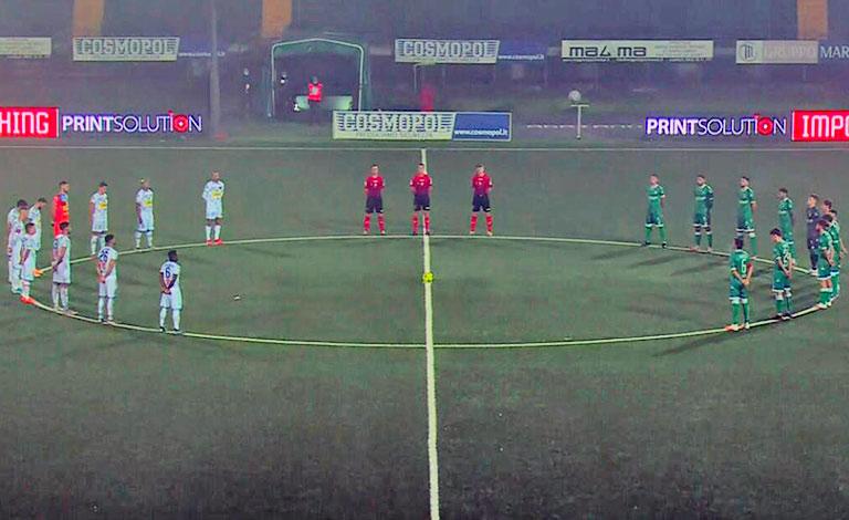Avellino-Catania 1-2, brivido sul finale