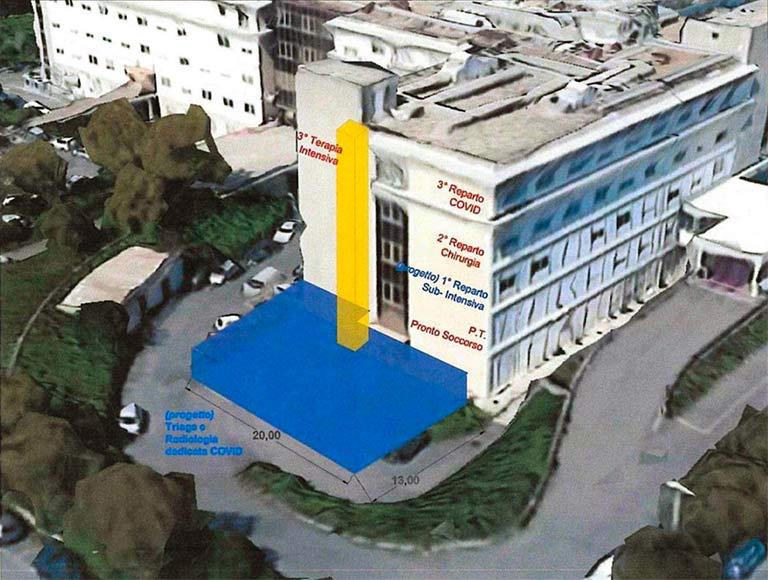Emergenza Covid Sicilia, 5mln per due ospedali