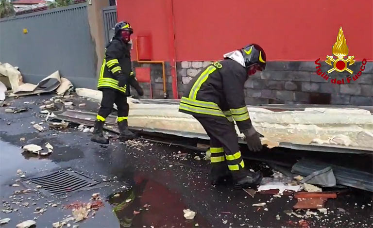 Maltempo a Catania, si contano i danni