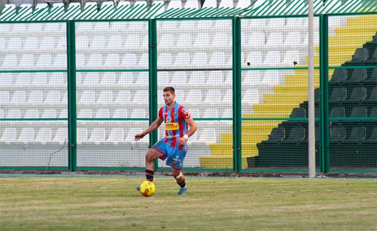 Catania-Cavese pareggiano 1-1