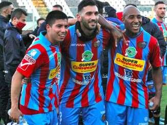 Catania-Monopoli 3-1, 'remuntada' etnea