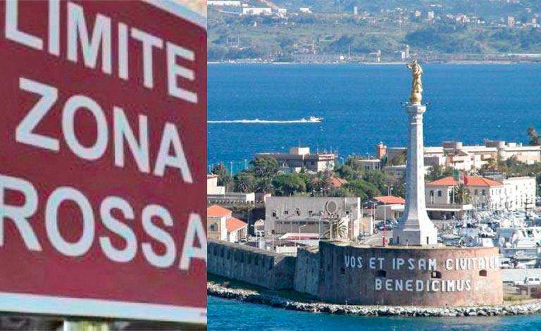 Messina, Castel di Iudica e Ramacca zona rossa