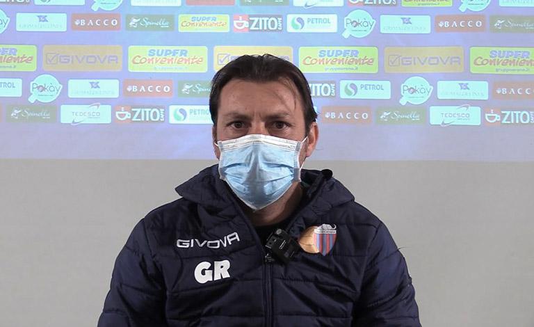 "Casertana-Catania, Raffaele: ""Gruppo motivato"" - intervista video"