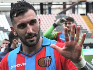 Catania-Virtus Francavilla 1-0, Dall'Oglio incisivo