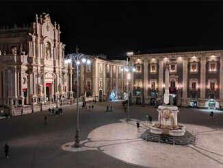 Cattedrale Catania, nuova illuminazione per Sant'Agata