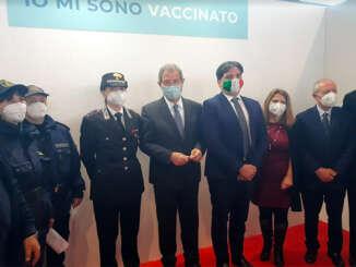 Inaugurata a Catania area vaccinale anti covid