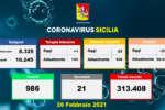 Covid in Sicilia, 578 nuovi casi e 21 morti