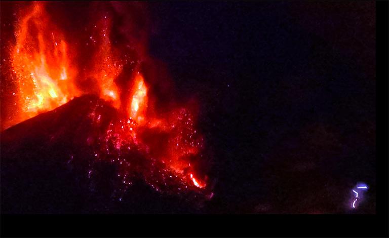 Etna, quiete dopo la tempesta… di fuoco - video