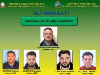 Mafia e imprenditoria, 26 indagati a Catania