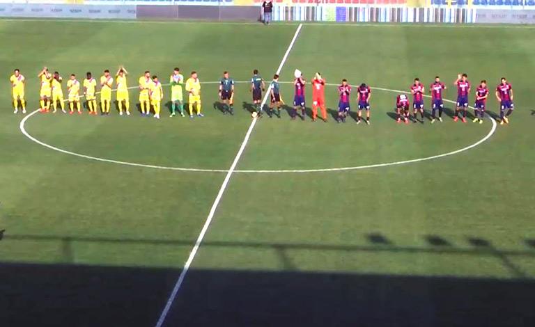 Vibonese-Catania 1-1, etnei terzo pareggio di fila