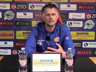 Catania-Avellino 3-1, post gara Baldini, Russotto e Sarao - video