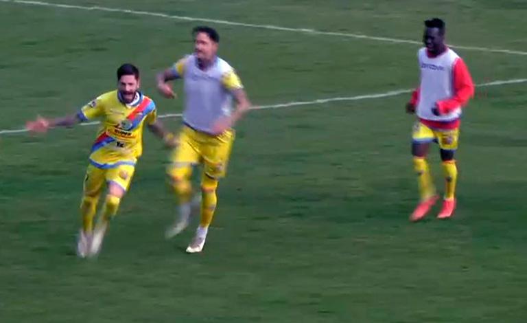 Bisceglie-Catania 0-3, rivalsa etnea dopo il derby