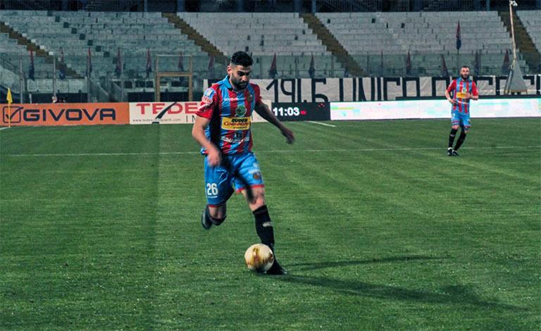 Catania-Palermo 0-1, Santana sentenzia gli etnei